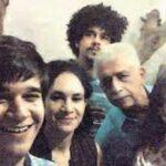 Imaad Shah with parents Ratna Pathak Shah, Naseeruddin Shah and brother Vivaan and sister Heeba