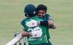 Pakistan after wining ODI series in South Africa