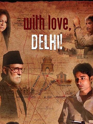 With love Delhi poster