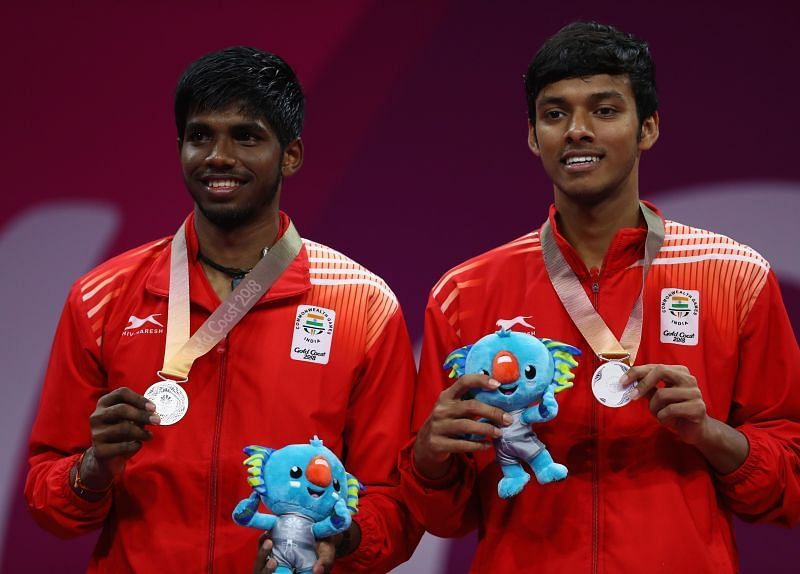 Chirag Shetty along with his doubles partner Satwiksairaj won gold medal at the 2018 Common Wealth games