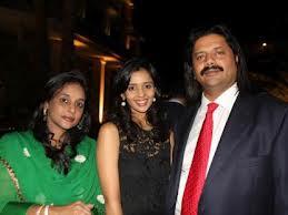 Gayatri Reddy with her mother, Manjula Reddy, and father, T. Venkattram Reddy