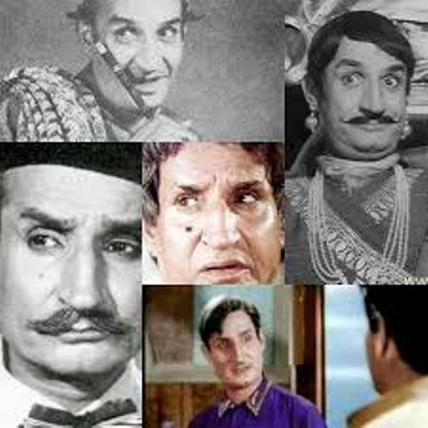 A collage of Jeevan's roles from some films