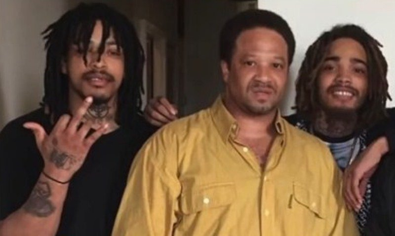 KTS Dre with his father and his half-brother (Von)
