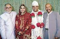 Syed Kirmani son marriage