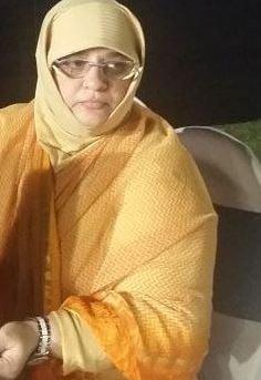 Syed Kirmani's wife