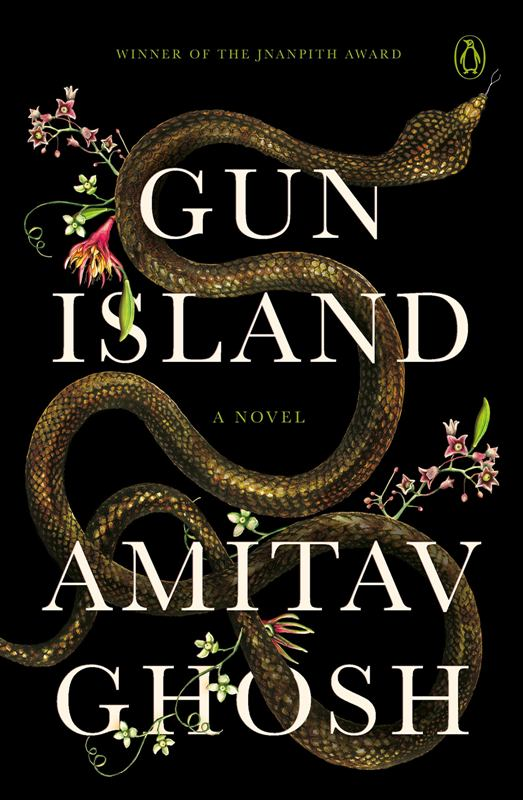 The book written by Amitav Ghosh 'Gun Island'