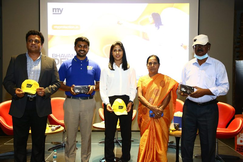 World's first Safety Lifestyle brand 'MY' appointed C A Bhavani Devi as their Goodwill Ambassador