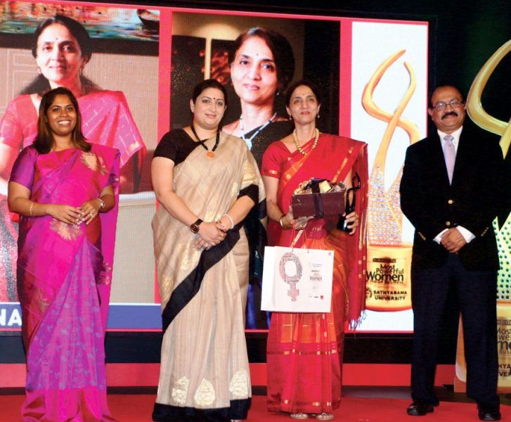 Chitra Ramkrishna awarded the Most Powerful Women in Business award