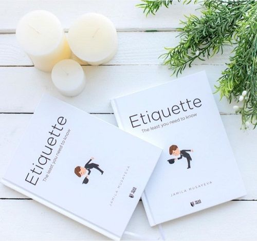 Jamila Musayeva's book 'Etiquette The Least You Need To Know'
