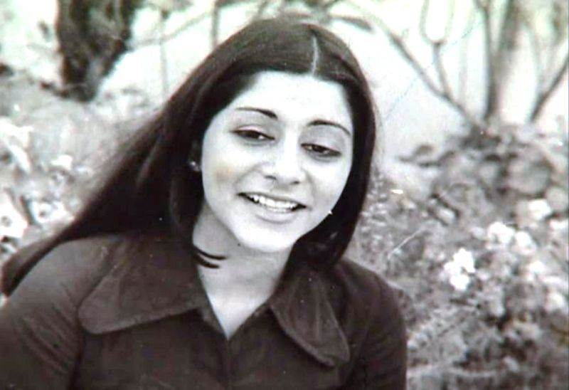 Naina Lal Kidwai during her college days