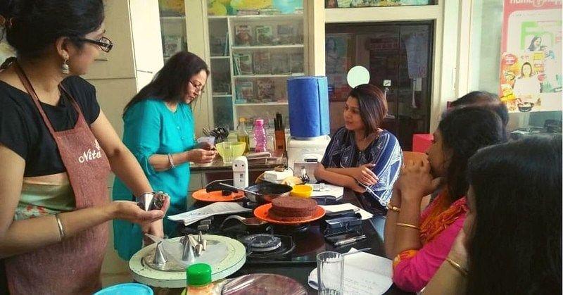 Nita Mehta`s cooking class
