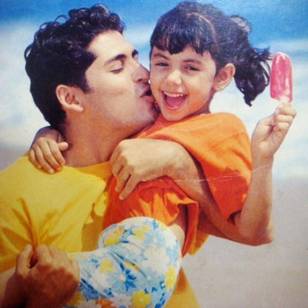 Sharmila Nicollet as a kid in Kwality Walls advertisment