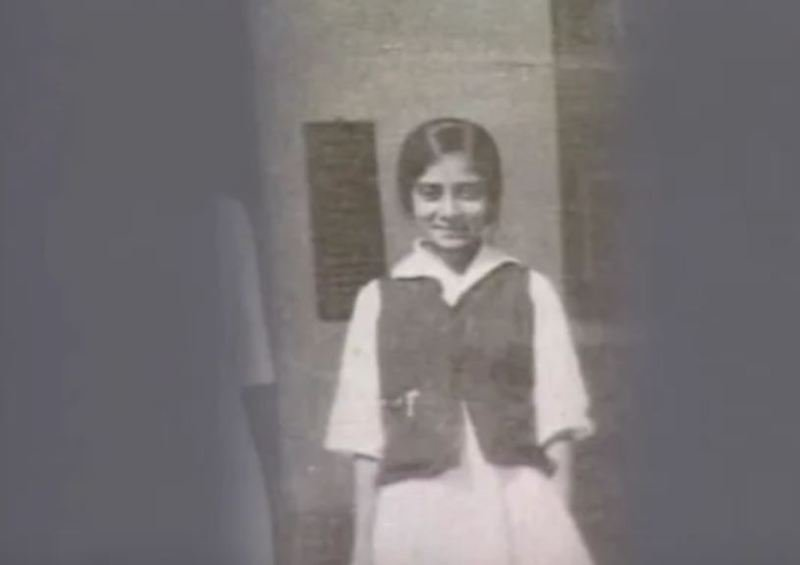 A Childhood Picture of Usha Mehta