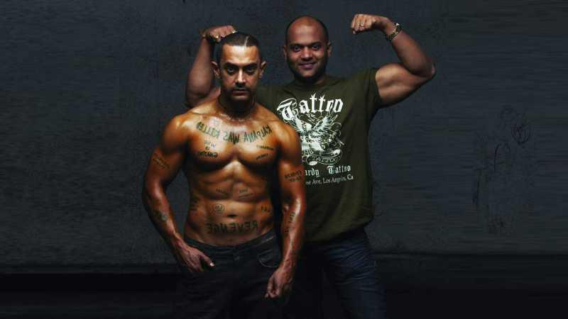 Aamir Khan's physical transformation for Ghajini