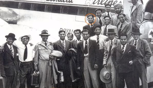 Indian team for Australian tour in 1947-48 post independence