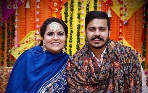 Namanveer Singh Brar with his sister