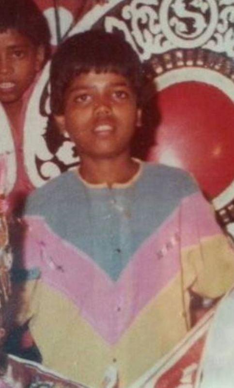 Santosh Chaudhary's (Dadus) childhood picture