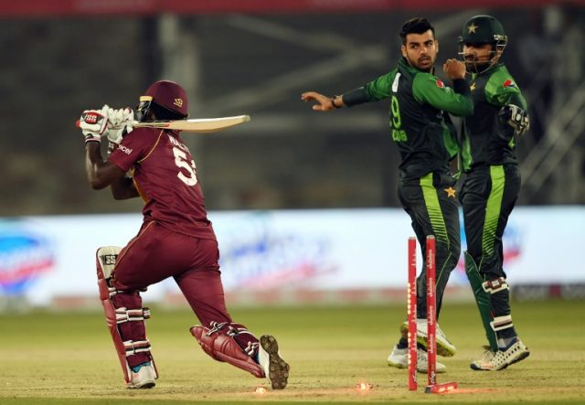 Shadab Khan fined for violating ICC Code of Conduct