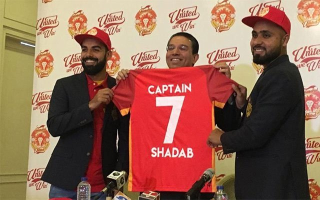 Shadab Khan's PSL jersey number