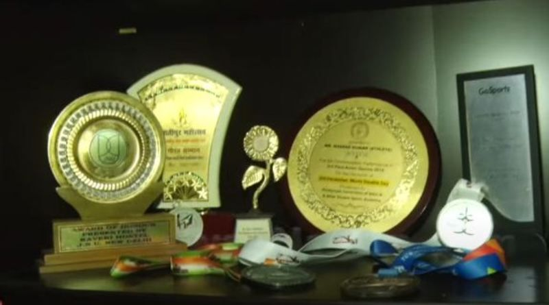 Sharad Kumar's moments he won in his school competitions