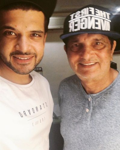 Karan Kundrra with his father